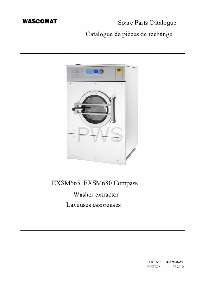 diagrams parts and manuals for wascomat exsm665 washer rh pwslaundry com wascomat w74 wiring diagram wascomat w640 wiring diagram