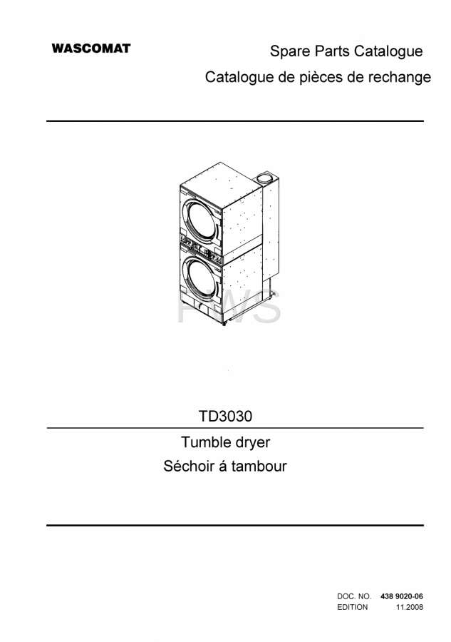 Diagrams  Parts And Manuals For Wascomat Td3030 Dryer