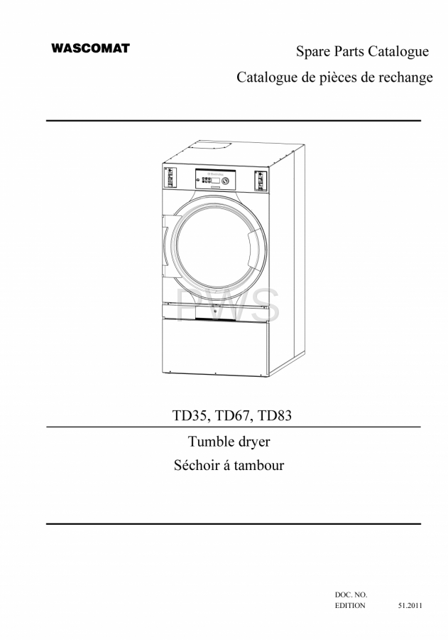 Diagrams, Parts and Manuals for Wascomat TD83 Dryer on hotpoint dryer schematic diagram, whirlpool dryer schematic diagram, amana dryer schematic diagram, ge dryer schematic diagram, maytag dryer schematic diagram,