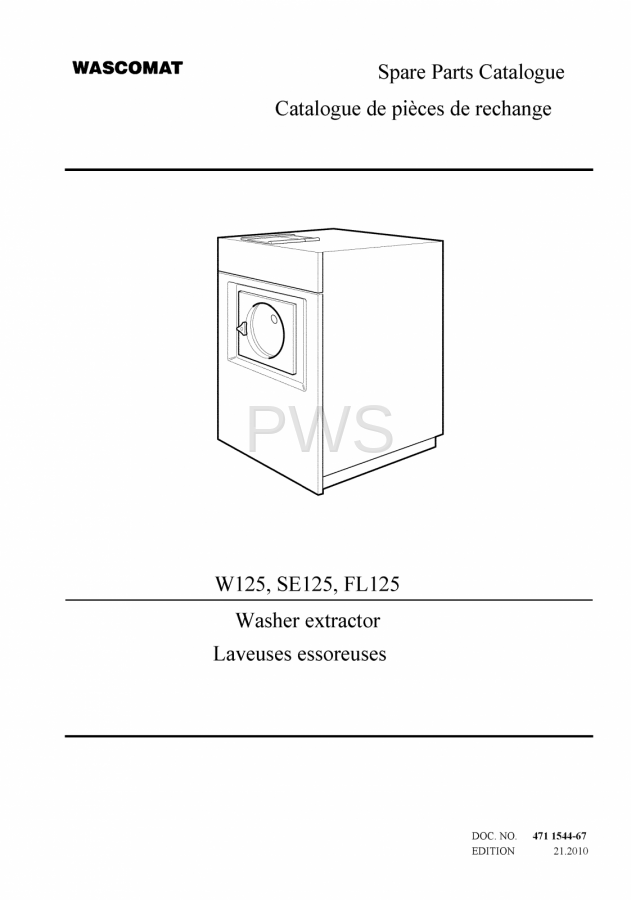 diagrams parts and manuals for wascomat w125 washer wascomat parts diagrams parts and manuals for wascomat w125 washer