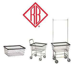 Laundry Supplies - Laundry Carts & Baskets