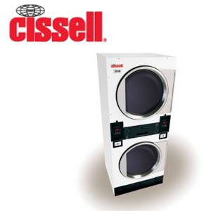 Commercial Cissell Stacked Washer and Dryer Parts