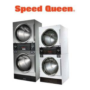 Commercial Speed Queen Laundry Parts - Commercial Speed Queen Stacked Washer and Dryer Parts