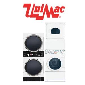 Commercial Unimac Laundry Parts - Commercial Unimac Stacked Washer and Dryer Parts