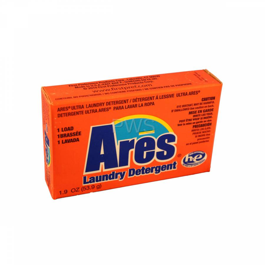 Ares Powder Coin Laundry Detergent Vend Size 1 9 Oz