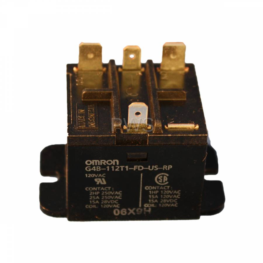 American Dryer 131814 115vac Motor Control Relay Commercial Centrifugal Switch On Manual Maytag Belt Diagram Parts