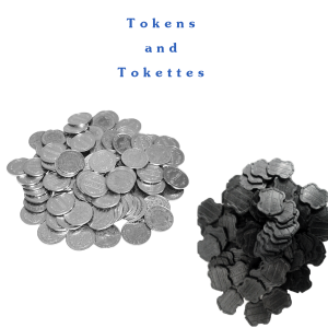 Amazon.com: Greenwald Black Laundry Tokens Tokettes: Home & Kitchen