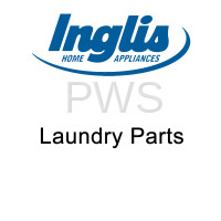 Inglis Parts - Inglis #W10085210 Dryer Label-Hinge Hole Cover Front Panel