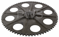 Huebsch Parts - Huebsch #M400091P Dryer SPROCKET 72 TEETH ALUMINUM