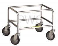R&B Wire Products - Standard Laundry Cart Base (for 100 series carts)