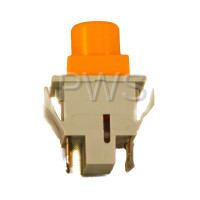 Wascomat Parts - Wascomat #471961008 Washer SWITCH,MANUAL ORANGE (2P-NO) ON/OFF
