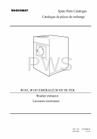 Wascomat Parts - Diagrams, Parts and Manuals for Wascomat W105 Washer