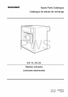 Wascomat Parts - Diagrams, Parts and Manuals for Wascomat EX-15 Washer