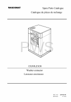 Wascomat Parts - Diagrams, Parts and Manuals for Wascomat EX50S Washer