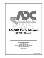 American Dryer Parts - Diagrams, Parts and Manuals for American Dryer AD-30V Dryer