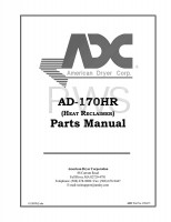 American Dryer Parts - Diagrams, Parts and Manuals for American Dryer AD-170HR Dryer