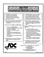 American Dryer Parts - Diagrams, Parts and Manuals for American Dryer AD-75T Dryer