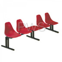 Sol-O-Matic - Sol-O-Matic ABS-5T Modular Seating Unit with Table Tops