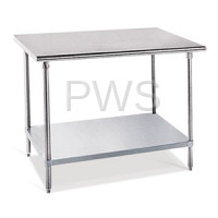 Sol-O-Matic - Sol-O-Matic SST-244 Stainless Steel Work Table