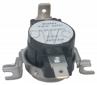 ERP Laundry Parts - #ER303396 Dryer Thermostat - Replacement for Whirlpool 303396