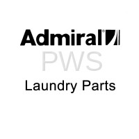 Admiral Parts - Admiral #W10811916 Dryer PLUG - PANEL FRONT WHITE