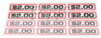 Greenwald Parts - Greenwald #00-9104-26 DECAL, $2.00 SLIDE