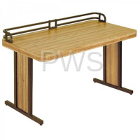 Sol O Matic TFL 3060 B Fiberglass Laminate Tables W/Backstop