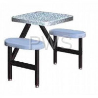 Sol-O-Matic - Sol-O-Matic STF-2224 Fiberglass Indoor & Outdoor Seat-Table Units