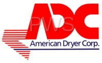 "American Dryer Parts - American Dryer #450552 AD410 B&W SPEC SHEET (11X17"")"