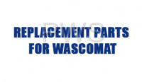Wascomat Parts - Wascomat #244101-02 Washer LABEL,SERVICE & PARTS