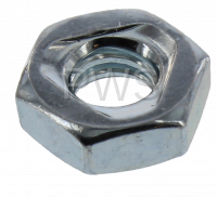Unimac Parts - Unimac #52566 Washer/Dryer NUT HEX 1/4-20 JAM-UNC-ZNC PLT