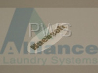 Alliance Parts - Alliance #800922 Washer/Dryer LABEL DOMED-HUEBSCH