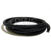 Huebsch Parts - Huebsch #F200107P Washer HOSE WATER 5/16ID BLK 10FT LNG