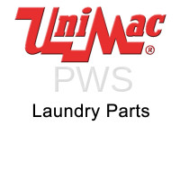 Unimac Parts - Unimac #F230734 Washer DECAL CAUT:WATER LINE UC