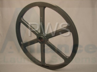 Huebsch Parts - Huebsch #F280197 Washer PULLEY 2GRV-3V-22.00 OD-1.50ID