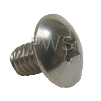 Huebsch Parts - Huebsch #F430995 Washer SCREW PLTH SS 8-32X1/4