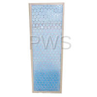 IPSO Parts - Ipso #H96382106 Dryer FILTER LINT-STEAM COIL 120# 15X44
