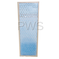 Alliance Parts - Alliance #H96382106 Dryer FILTER LINT-STEAM COIL 120# 15X44