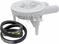 IPSO Parts - Ipso #RB150003 Washer KIT BELT&PUMP MODEL M/N 8/POST