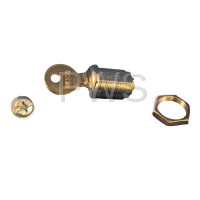 "American Dryer Parts - American Dryer #160015 7/8"" MK-100 LOCK WITH 1 KEY"