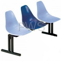 Sol-O-Matic - Sol-O-Matic CMD-3 Fiberglass Modular Seating w/o Tables
