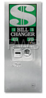 Rowe Changer Equipment - Rowe BC-1400 Bill to Coin Changer (Rear Load, Wall-Mounted)