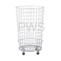 R&B Wire Products - R&B Wire RWB Round Wire Utility Basket, Zinc Plated - 45 Gallon (6 Bu.) Capacity