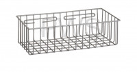 "R&B Wire Products - R&B Wire 2255 Storage Basket 15"" x 7"" x 3 3/4"" deep"