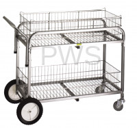 R&B Wire Products - R&B Wire 510 Large Capacity Utility Cart