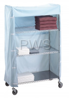 R&B Wire Products - R&B Wire 183672C Linen Cart Nylon Cover 18x36x72
