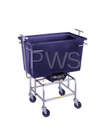 R&B Wire Products - R&B Wire RB51PL Mobile Scale with Poly Tub Not Legal for Trade