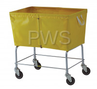 R&B Wire Products - R&B Wire 466 6 Bushel Elevated Truck with Sewn-On Vinyl/Nylon Liners