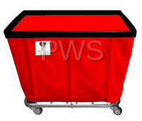 R&B Wire Products - R&B Wire 420SO 20 Bushel Permanent Liner Basket Truck