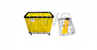 R&B Wire Products - R&B Wire 406KD 6 Bushel UPS/FEDEX-ABLE Basket Truck